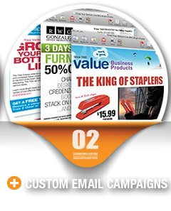 Custom Email Campaigns
